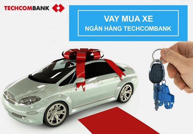 Vay thế chấp Techcombank mua xe