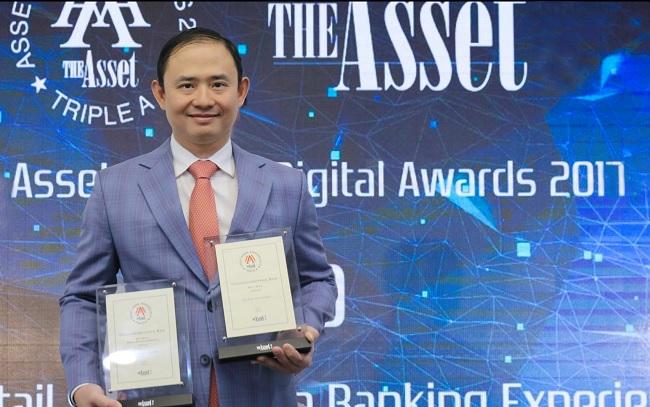 VIB nhận 2 giải thưởng quốc tế về dịch vụ ngân hàng năm 2017