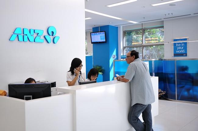 Văn phòng giao dịch hiện đại của ngân hàng ANZ