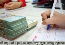 Đáo hạn vay ngân hàng Agribank