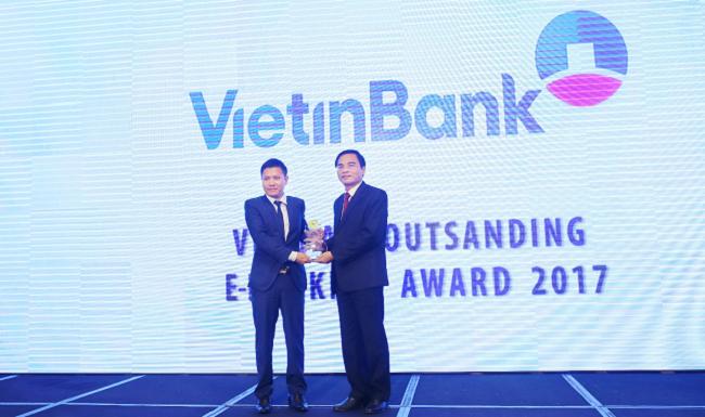 Vietinbank nhận giải thưởng ngân hàng tiêu biểu năm 2017