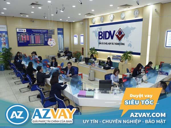 vay vốn đáo hạn ngân hàng BIDV