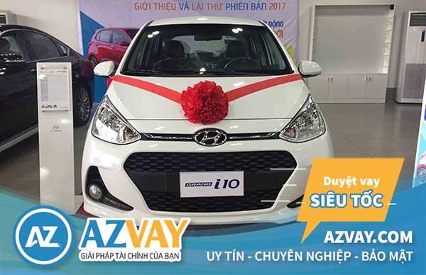Vay vốn mua xe Hyundai i10 lãi suất thấp