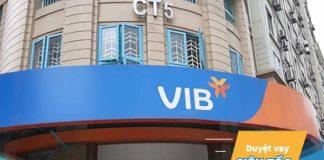 Lãi suất vay mua xe ô tô trả góp ngân hàng VIB
