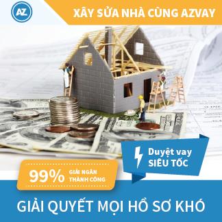 Dịch vụ vay xây sửa nhà