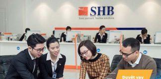 Lãi suất vay thế chấp sổ đỏ ngân hàng SHB năm 2020