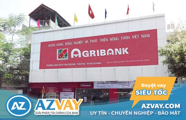 lãi suất vay thế chấp Agribank năm 2019