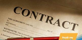 Mẫu hợp đồng lao động cho người cần vay vốn ngân hàng