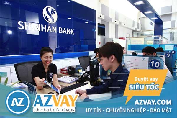 Vay mua ô tô trả góp lãi suất thấp tại ngân hàng Shinhan Bank