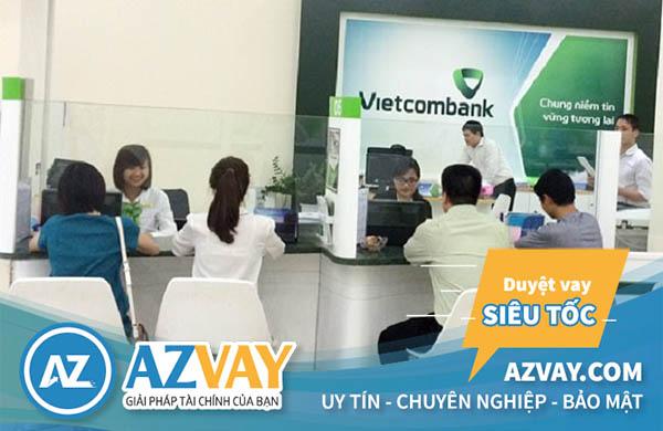 Vay mua xe trả góp ngân hàng Vietcombank lãi suất thấp
