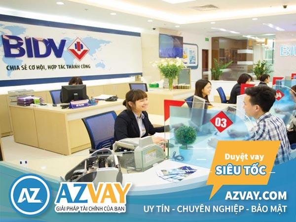 Vay vốn kinh doanh ngân hàng BIDV