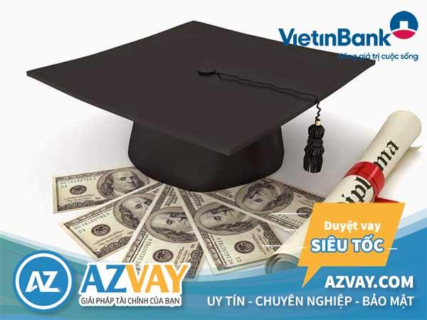 Lãi suất vay du học ngân hàng Vietinbank khá hấp dẫn