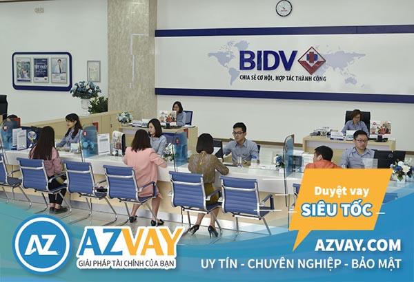 Vay vốn mua nhà trả góp tại ngân hàng BIDV