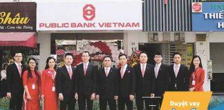 Lãi suất vay mua nhà trả góp ngân hàng Public Bank năm 2019