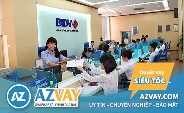 Điều kiện vay mua nhà trả góp 20 năm tại BIDV đơn giản
