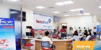 Lãi suất vay mua xe ô tô trả góp ngân hàng Vietinbank