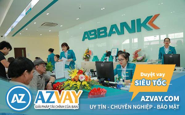 lãi suất vay thế chấp sổ đỏ ABbank