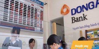 Lãi suất vay thế chấp ngân hàng Đông Á năm 2019