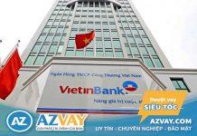 Lãi suất vay thế chấp sổ đỏ ngân hàng Vietinbank năm 2020