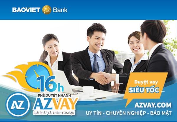 Vay mua xe ngân hàng Bảo Việt