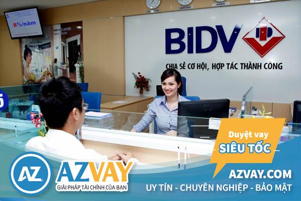 Ngân hàng BIDV hỗ trợ vay mua xe trả góp 200 triệu