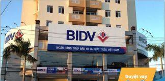 Lãi suất vay xây sửa nhà trả góp ngân hàng BIDV