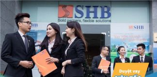 Lãi suất vay xây sửa nhà trả góp ngân hàng SHB