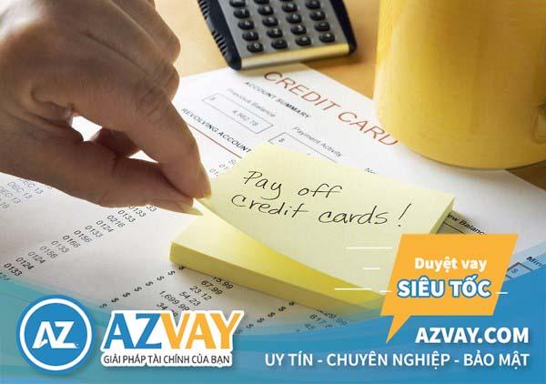 Có nhiều cách để thanh toán dư nợ tín dụng