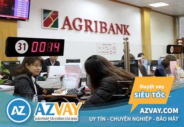 Thủ tục vay trả góp tại ngân hàng Agribank đơn giản