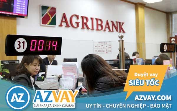 Vay tín chấp theo lương lãi suất thấp tại ngân hàng Agribank
