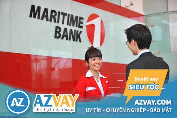 Vay tín chấp theo lương tại ngân hàng Maritimebank
