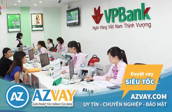 Vay tín chấp theo lương ngân hàng VPbank lãi suất có thấp không