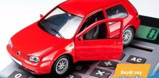 Vay 500 triệu mua xe ô tô trả góp lãi suất bao nhiêu một tháng