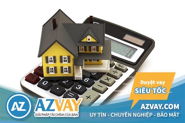 Lãi suất vay mua nhà được tính theo dư nợ gốc hoặc dư nợ giảm dần