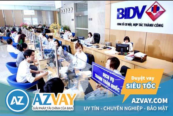 Vay thế chấp 10 năm tại ngân hàng BIDV