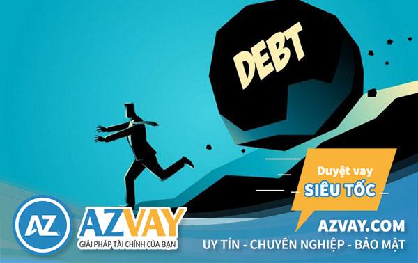 Khách hàng bị nợ xấu rất khó có thể vay vốn tiếp tại ngân hàng.