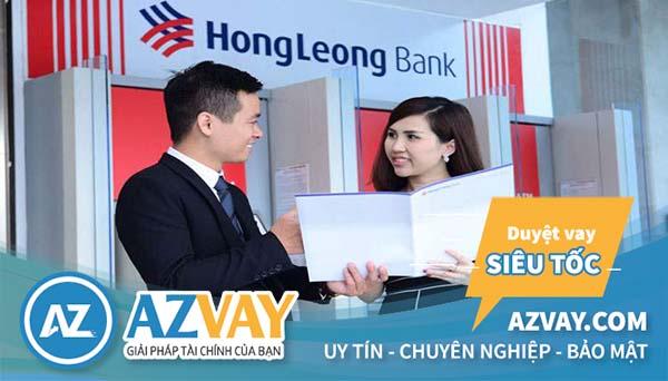 Vay thế chấp ngân hàng Hongleong Bank