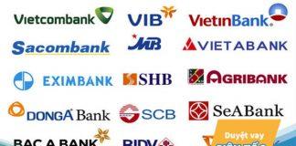Lãi suất vay các ngân hàng năm 2019