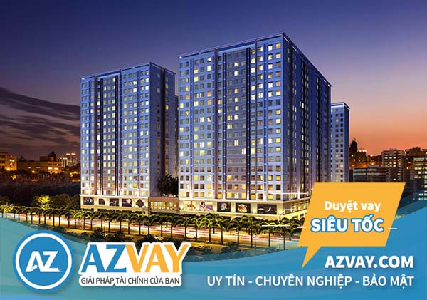 Chung cư Topaz Home do Công ty DV - TM Thuận Kiều và Công ty Vạn Thái Land hợp tác đầu tư