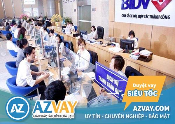 Thực hiện sao kê tài khoản trực tiếp tại địa điểm giao dịch của BIDV