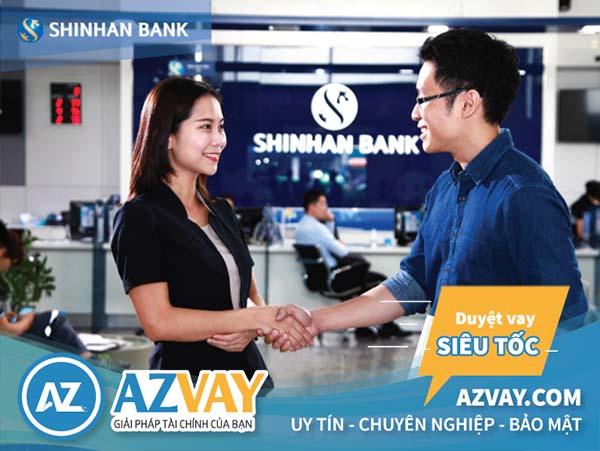 Điều kiện và thủ tục vay đáo hạn ngân hàng Shinhanbank đơn giản