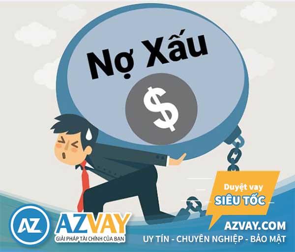 Ngân hàng không phê duyệt khoản vay nếu bạn bị nợ xấu