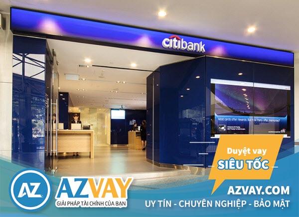 Ngân hàng Citibank cho vay thế chấp với lãi suất thấp