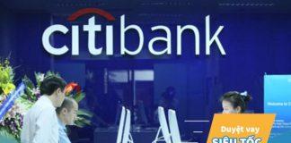 Dịch vụ vay thế chấp sổ đỏ ngân hàng Citibank