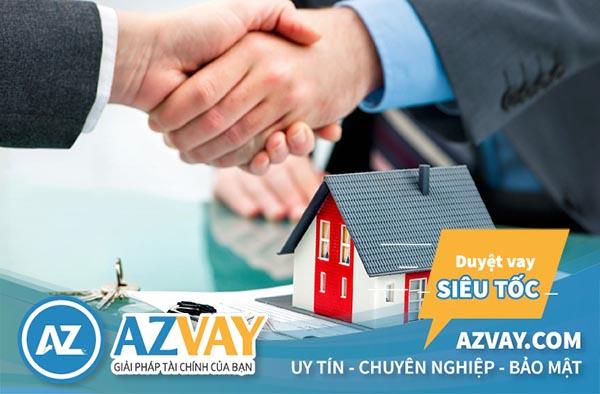Khách hàng có thể vay thế chấp nhà sắp mua thông qua hợp đồng mua bán