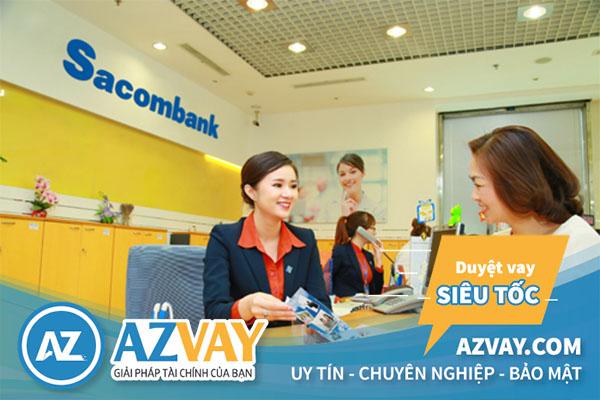 Điều kiện vay tín chấp theo lương tại Sacombank đơn giản