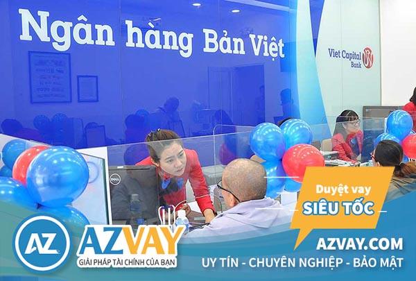 Khách hàng vay tín chấp tại ngân hàng Bản Việt