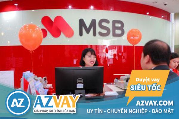 Vay tín chấp theo lương chuyển khoảng ngân hàng MSB