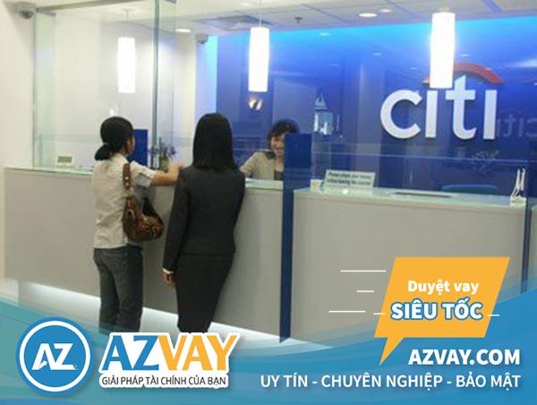 Lãi suất vay tín chấp theo lương Citibank hấp dẫn