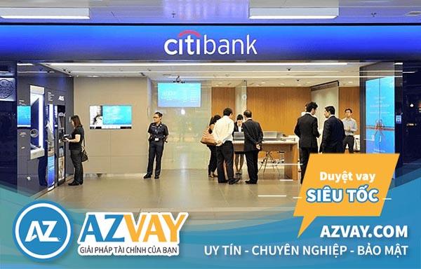 Điều kiện và thủ tục vay tín chấp theo lương ngân hàng Citibank đơn giản